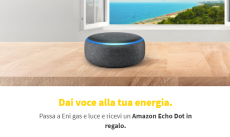 Amazon Echo Dot en cadeau avec Eni Gas and Light