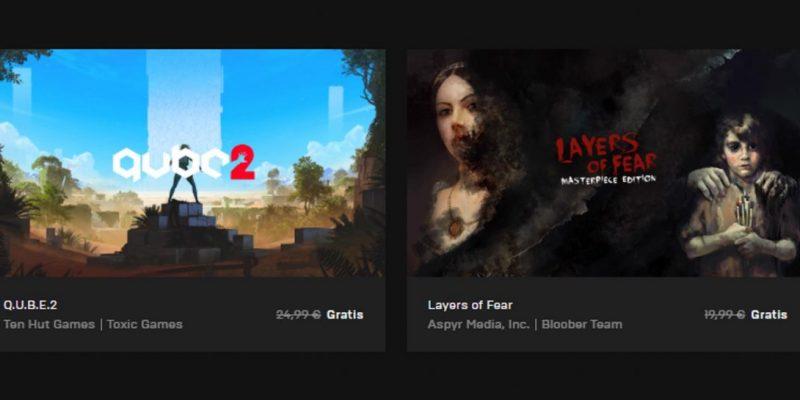 Q.U.B.E.2 e Layers of Fear sono i regali di Epic Games per Halloween!