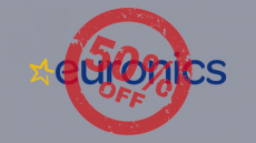 Euronics: تم إنتاج 50 بنسبة 50٪ من 18 إلى 31 يوليو!