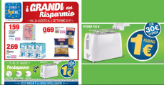 1 € toaster with Eurospin: here's how