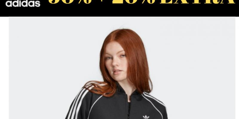 Распродажа Adidas 50% + 20% Extra: невероятные цены с купоном!