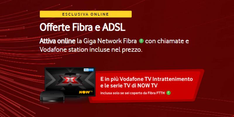 Le serie di NOW TV in regalo con Vodafone Giga Network Fibra