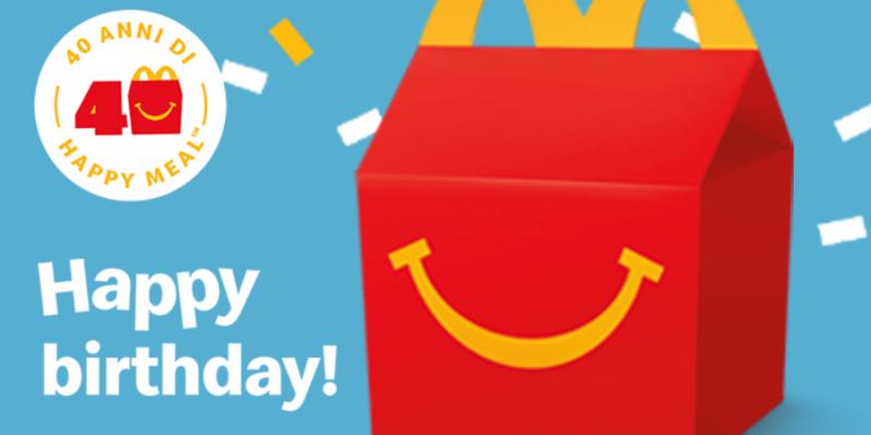 ماكدونالدز: هدية للجميع للاحتفال بسنة 40 من وجبة هابي ميل