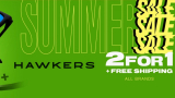 Hawkers 2 × 1: buy two products and the cheapest 2 ° is free!