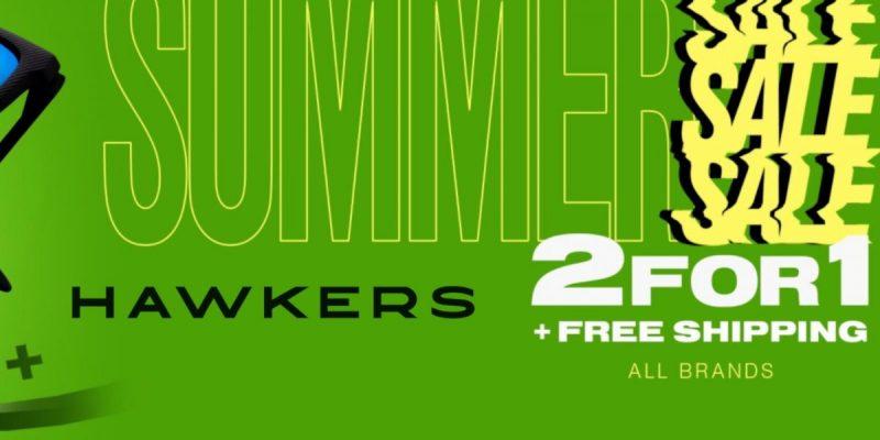 Hawkers 2×1: acquista due prodotti e il 2° meno caro è in omaggio!