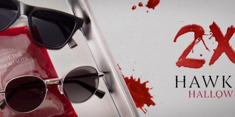 Hawkers: un paio d'occhiali in regalo con la promo Halloween