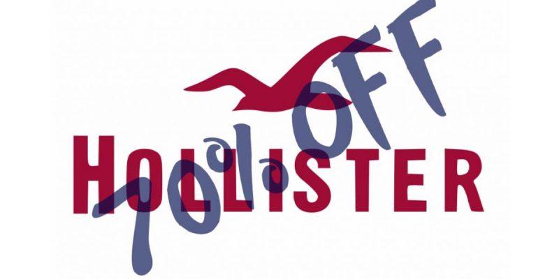 Promo folle per Hollister: saldi al 50+20% su abbigliamento uomo e donna