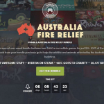 29 games from 0.75 €: supports Humble Bundle for fires in Australia