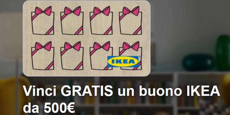 Vinci un buono IKEA da 500€: come fare in pochi passaggi