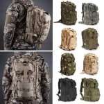 Offerta del giorno! IPRee® 30L Outdoor Tactical Backpack 600D Nylon Waterproof Camouflage Trekking Rucksack