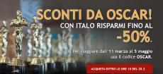 Italo: risparmia fino al 50% inserendo il codice sconto