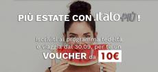 Melden Sie sich für das Italo Più-Programm an und lösen Sie den Gutschein von 10 € ein