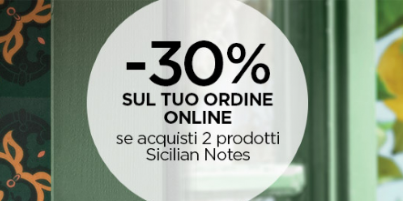 KIKO: 30% di sconto sulla collezione Sicilian Notes