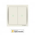 Koogeek Smart Light Switch 2 Pulsanti