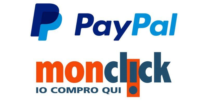 Paga con PayPal su Monclick e ricevi 20 euro di sconto!