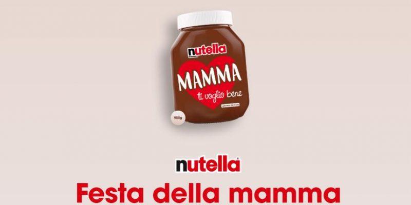 Nutella celebra la Festa della mamma con un vasetto dedicato: come ottenerlo