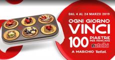 Partecipa al concorso Nutella e vinci l'esclusiva piastra per pancake