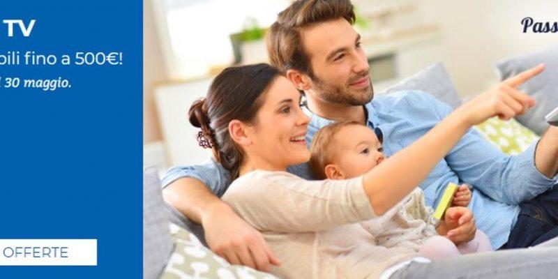 Offerta Unieuro: acquista una Smart TV e risparmia subito 500€