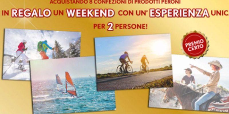 In regalo un Weekend di vacanza per due persone con Peroni