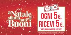 Promo folle Piazza Italia: 5€ in regalo ogni 5€ spesi
