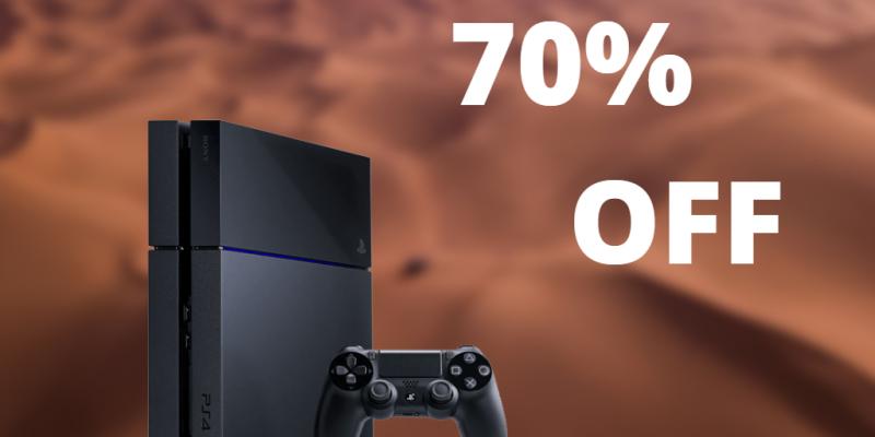Playstation Store: для некоторых пользователей скидки выше 70%