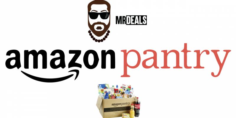 Amazon Pantry: come ottenere la prima scatola senza spese di spedizione!