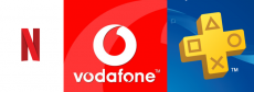 Ative a Vodafone Fiber e você terá o ano 1 do PS Plus e Netflix grátis por meses do 6