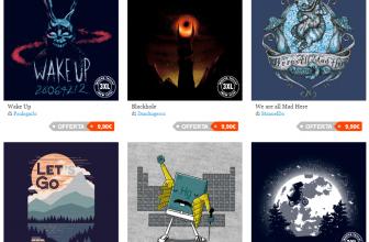 Pampling: 3 T-shirts met 10 € willekeurige afdrukken met deze coupon