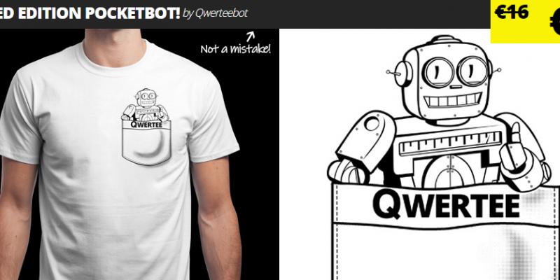 QWERTEE: футболка 2 €, и это не ошибка цены!