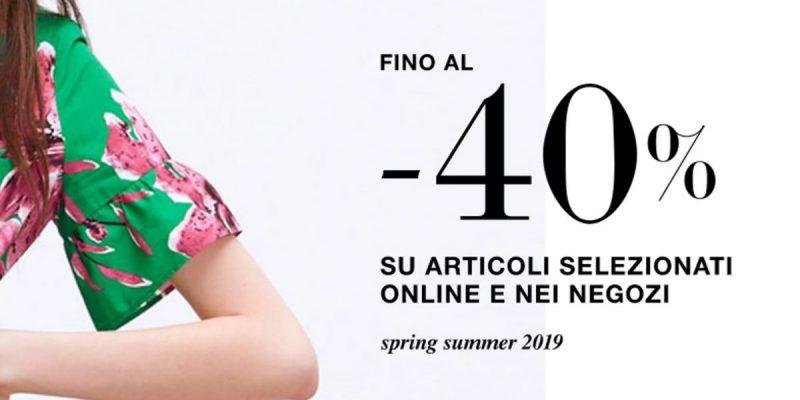 ZARA: saldi al 40% sulla collezione Primavera/Estate
