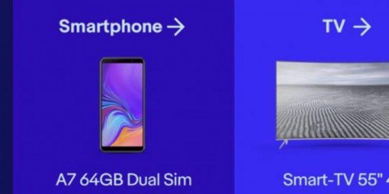 Samsung in offerta su eBay: sconti fino al 50%