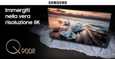 Prova gratis il nuovo Smart TV Samsung Qled 8K 65″ con The Insiders