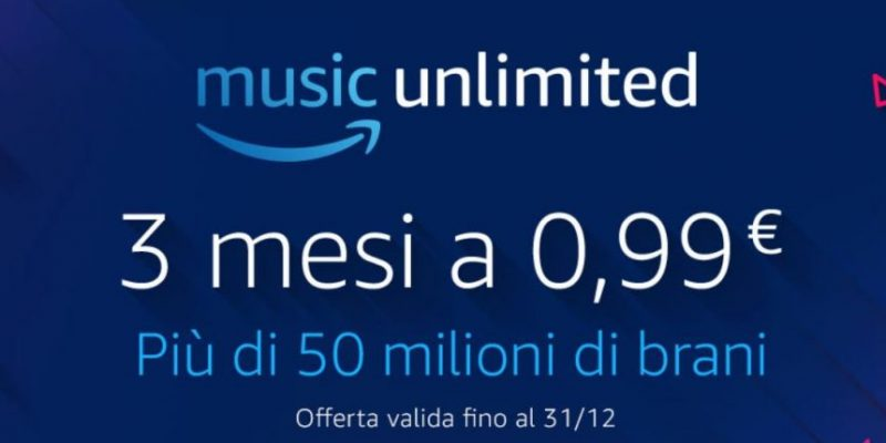 Amazon Music Unlimited: 90 giorni gratis con questo coupon