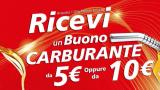 Selenia regala buoni carburante da 5 e 10 euro