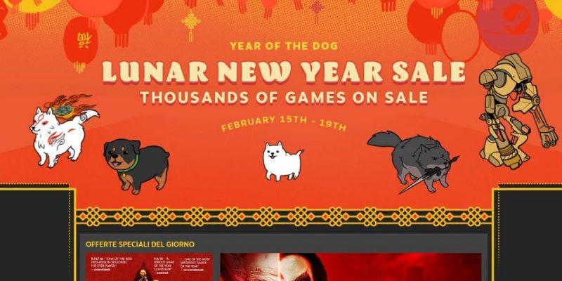 Steam festeggia il Capodanno cinese con tanti giochi in offerta