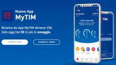 Con MyTim ricevi 5 euro in omaggio ogni 15 euro di ricarica