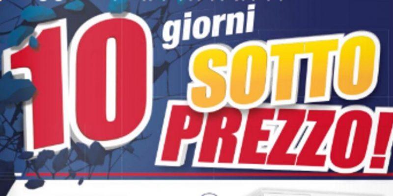 Volantino Trony: 10 giorni di sottoprezzo fino al 3 ottobre