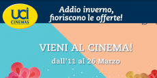 UCI Cinemas: وصول تخفيضات الربيع على العروض طوال الأسبوع