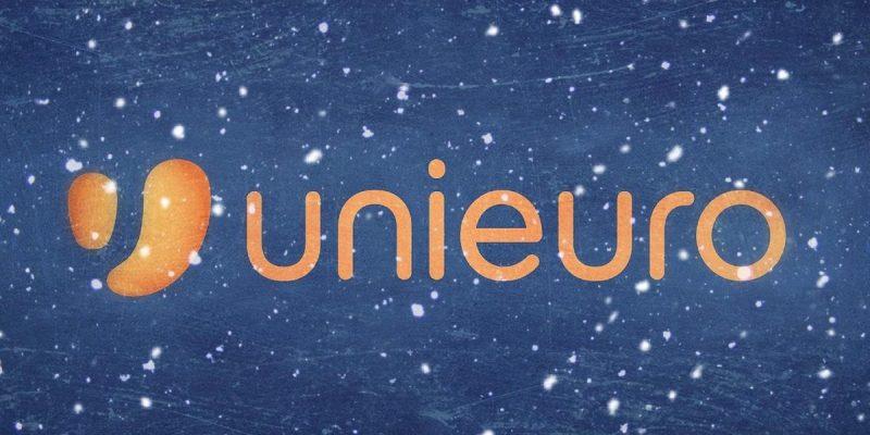 """Флаер Unieuro """"Рождественская суб-стоимость"""": предложения от 6 до декабря 15"""