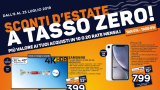 "Unieuro ""summer discounts at zero rate"": new offers until 25 July"
