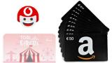 """Vodafone """"Gioca con TOBi"""": in palio 180 buoni Amazon e 900 voucher Infinity"""