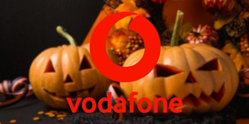 Vodafone Happy Halloween: in regalo Giga illimitati per tutta la settimana