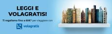 Mondadori oferece até 60 € para viajar com Volagratis