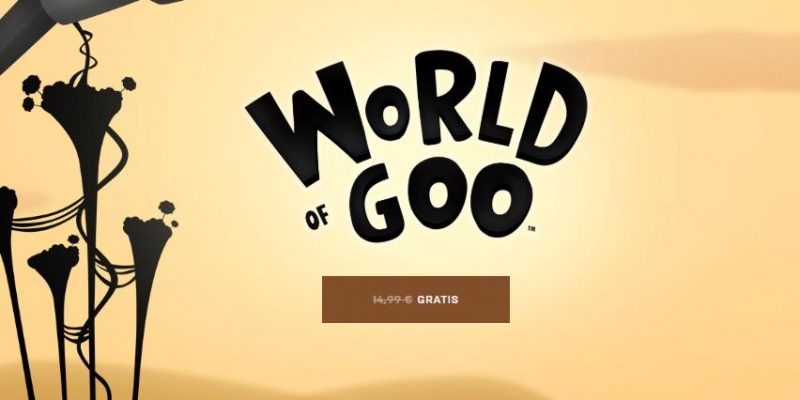 World of Goo: il gioco di Epic Games gratis per sempre