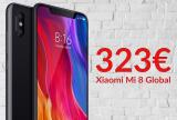 Xiaomi Mi 8 6/64 Global: super prezzo a 323€ grazie al codice sconto Banggood